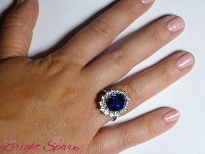 Реплика кольца принцессы Дианы и Кейт Миддлтон фото