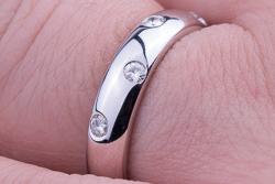 Обручальное кольцо Tiffany Etoile фото