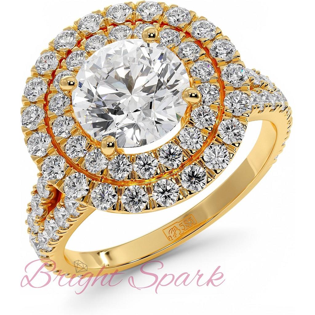 Кольцо Tiffany Soleste из желтого золота
